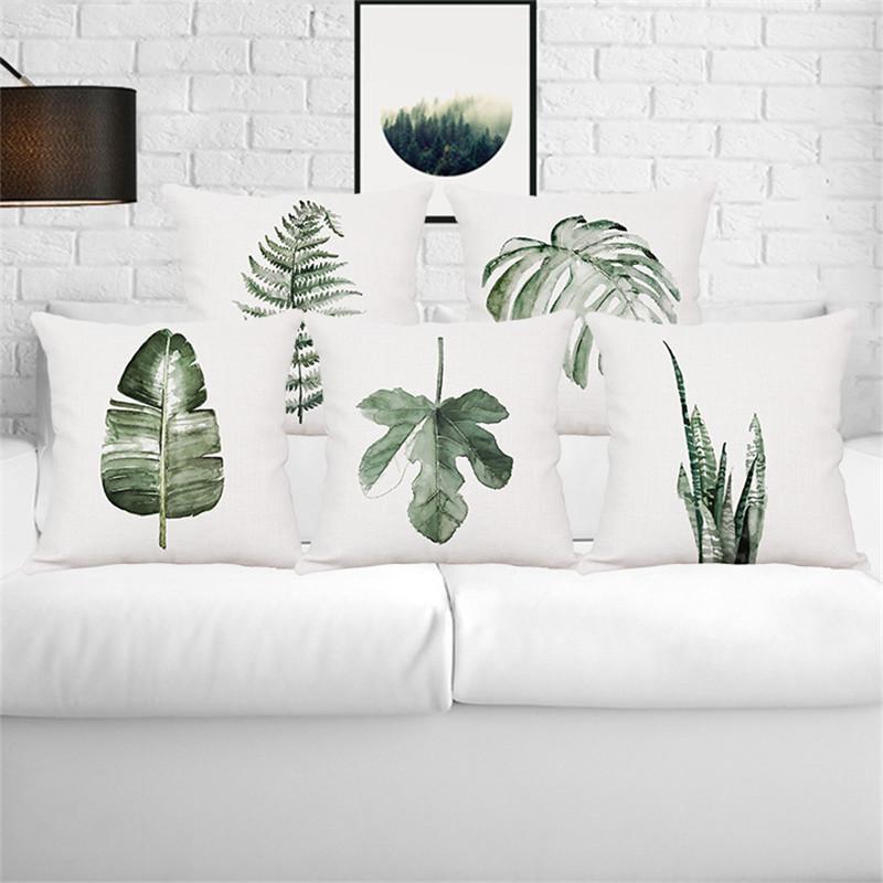 apcauce-Tropical-plant-rain-forest-fern-Monstera-wedding-gift-cushion-cover-wholesale-pillow-cover-home-car-sofa